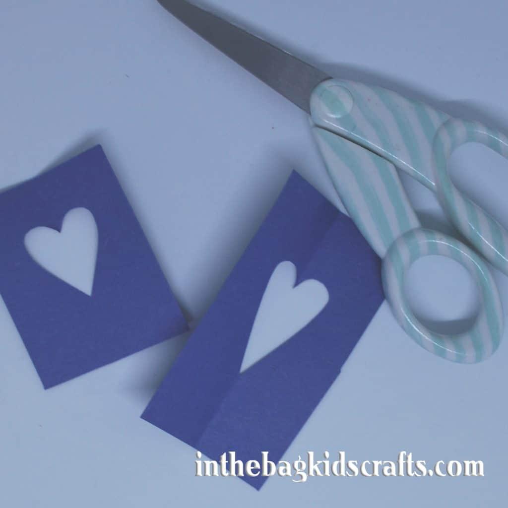 Easy Kids' Craft Rocking Blue Bird Step 4