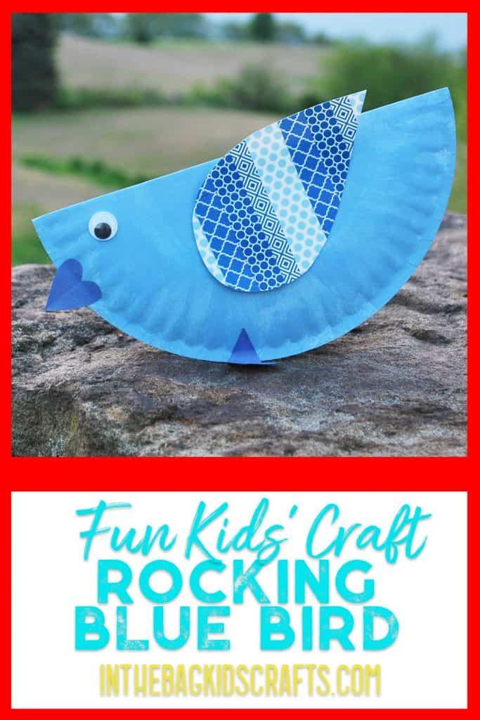 rocking birds kids crafts