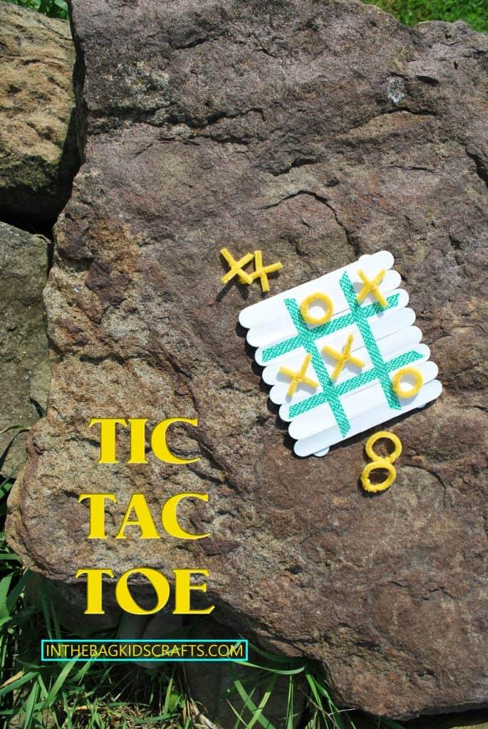 TIC TAC TOE KIDS CRAFT