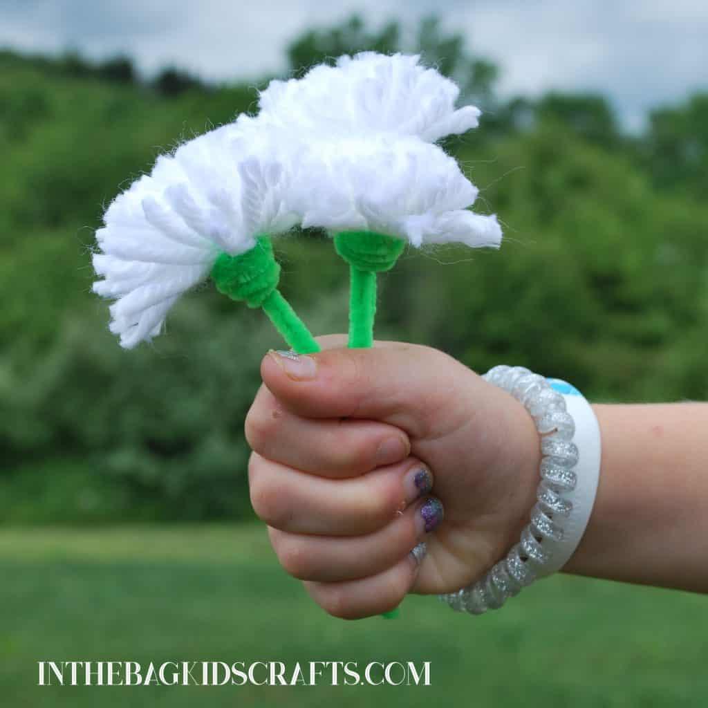dandelion craft for kids