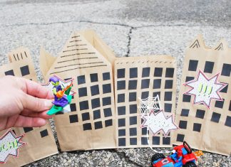 Paper Bag City Craft