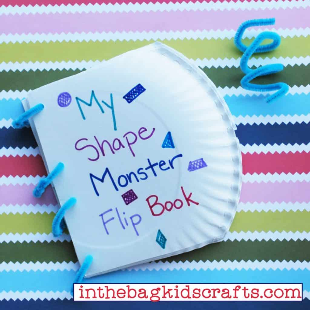 Shape Monster Flip Book Step 6