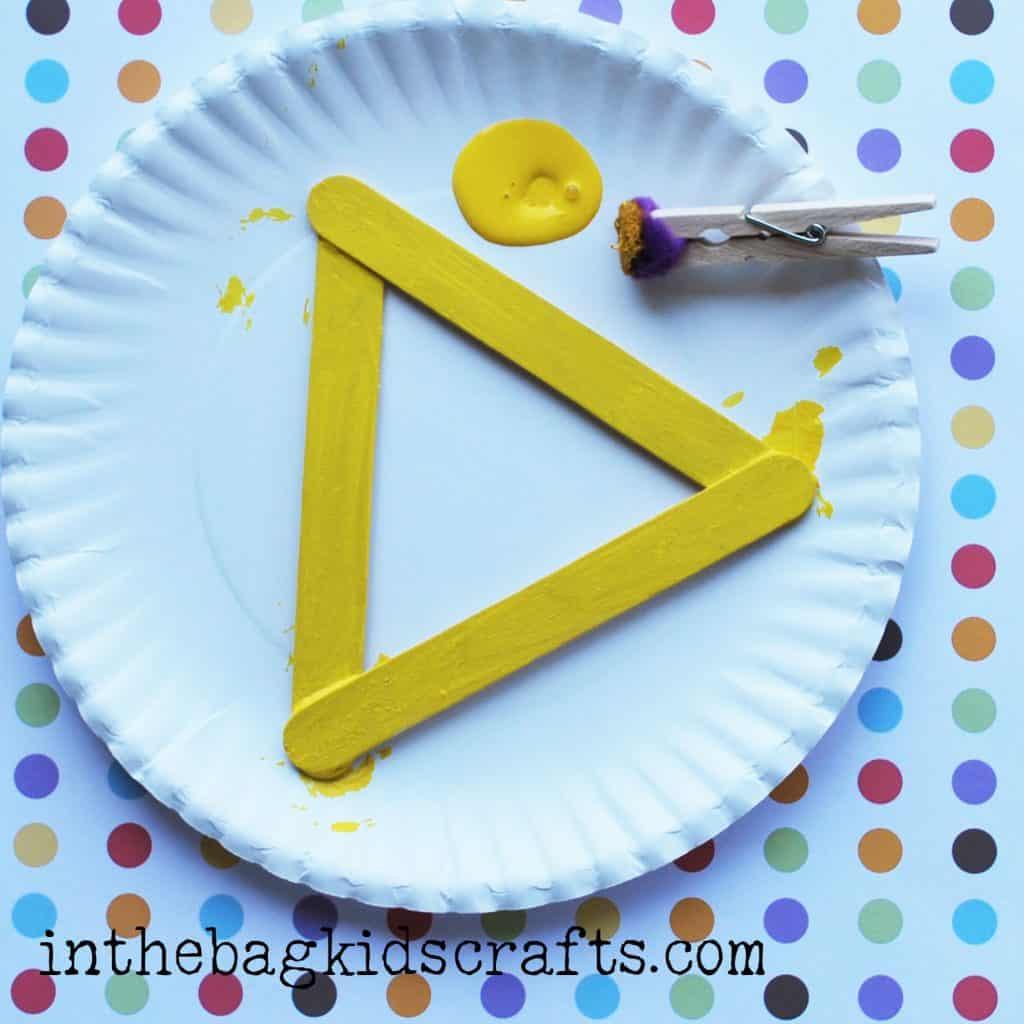 Summertime Kids Craft Pineapple step 3