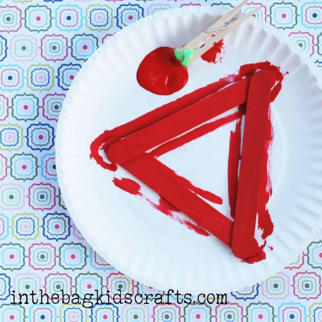 Triangle Strawberry step 3