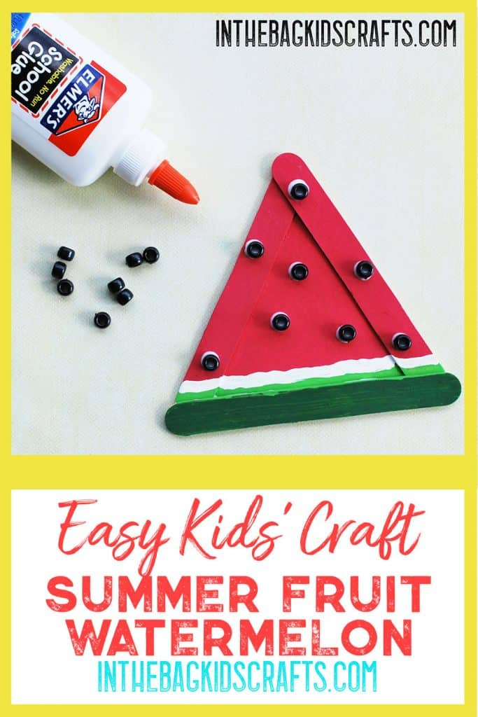 Watermelon Kids Craft