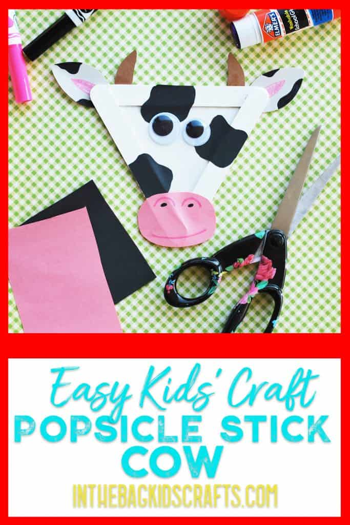 Cow Kids Craft