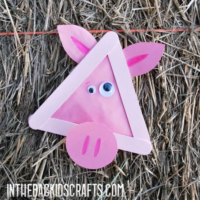 pig kids craft