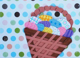 Easter Basket Kids Craft