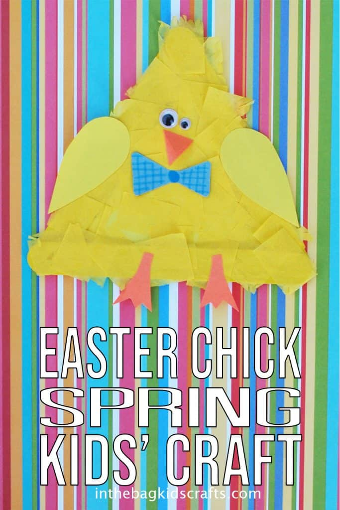 Easter Chick Kids Craft