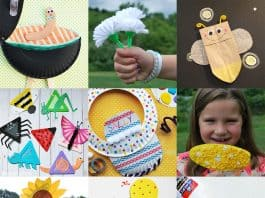 EASY SUMMER CRAFTS FOR KIDS