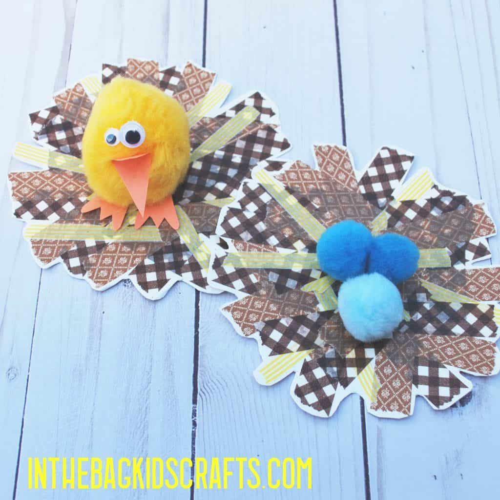 BIRD NEST CRAFT ACTIVITY