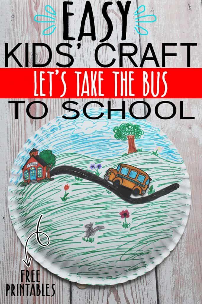 DIY BACK TO SCHOOL CRAFT