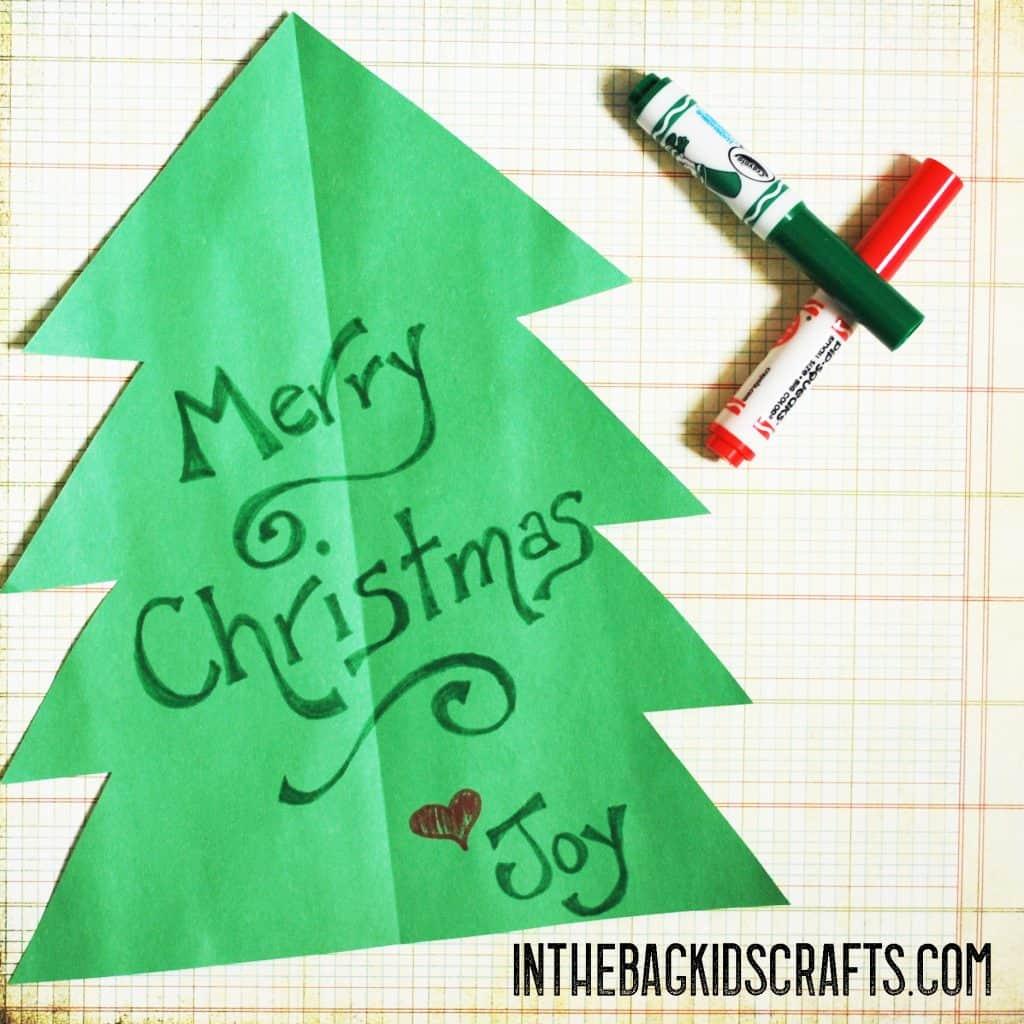 Write your Christmas message