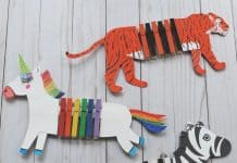3 Animal Crafts for Building Fine Motor Skills