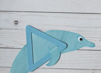 DOLPHIN CRAFT FOR KIDS