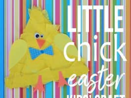EASTER CRAFTS IDEAS CHICK