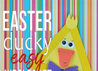 Duck Easter Craft