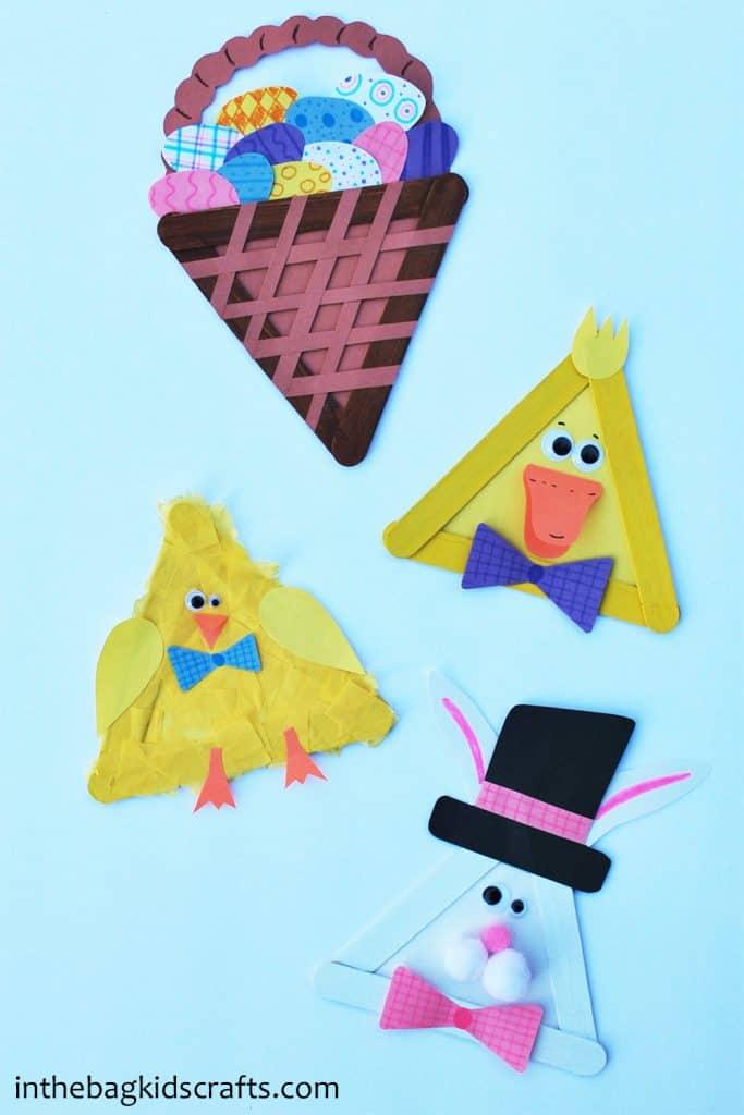 Easy Easter Kids Crafts