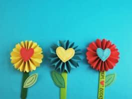 DIY BOOKMARK FLOWER DESIGN FEATURED IMAGE