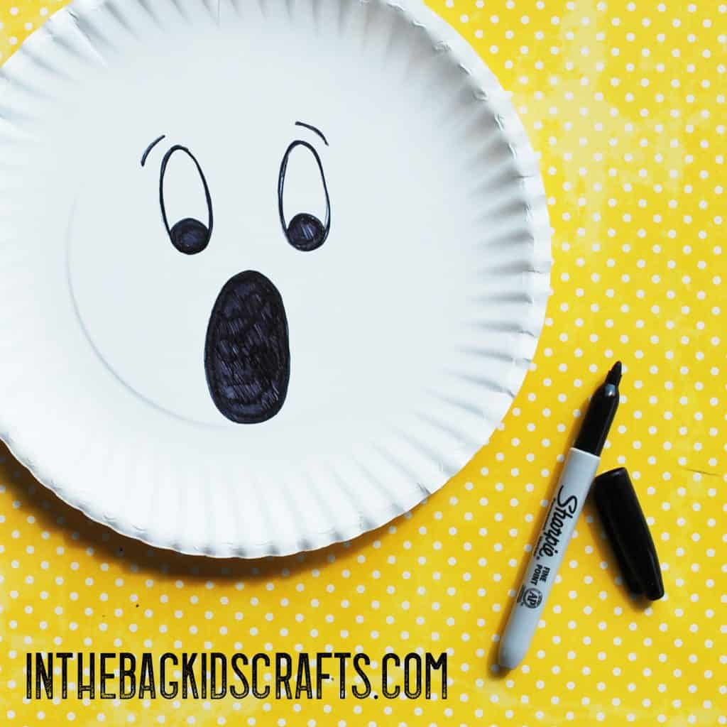 Halloween Paddle Ball Game Ghost