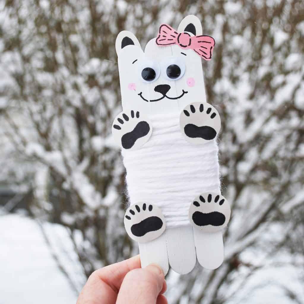 Girl Polar Bear