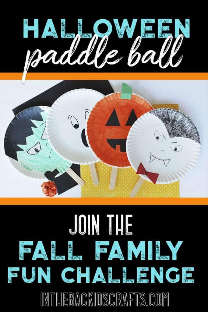 Halloween Paddle Ball Game