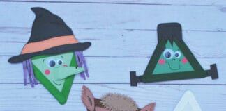 HALLOWEEN MONSTER ARTS AND CRAFTS