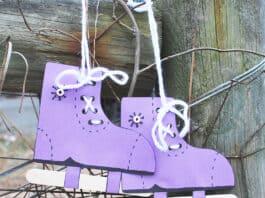 Ice Skate Craft for Kids