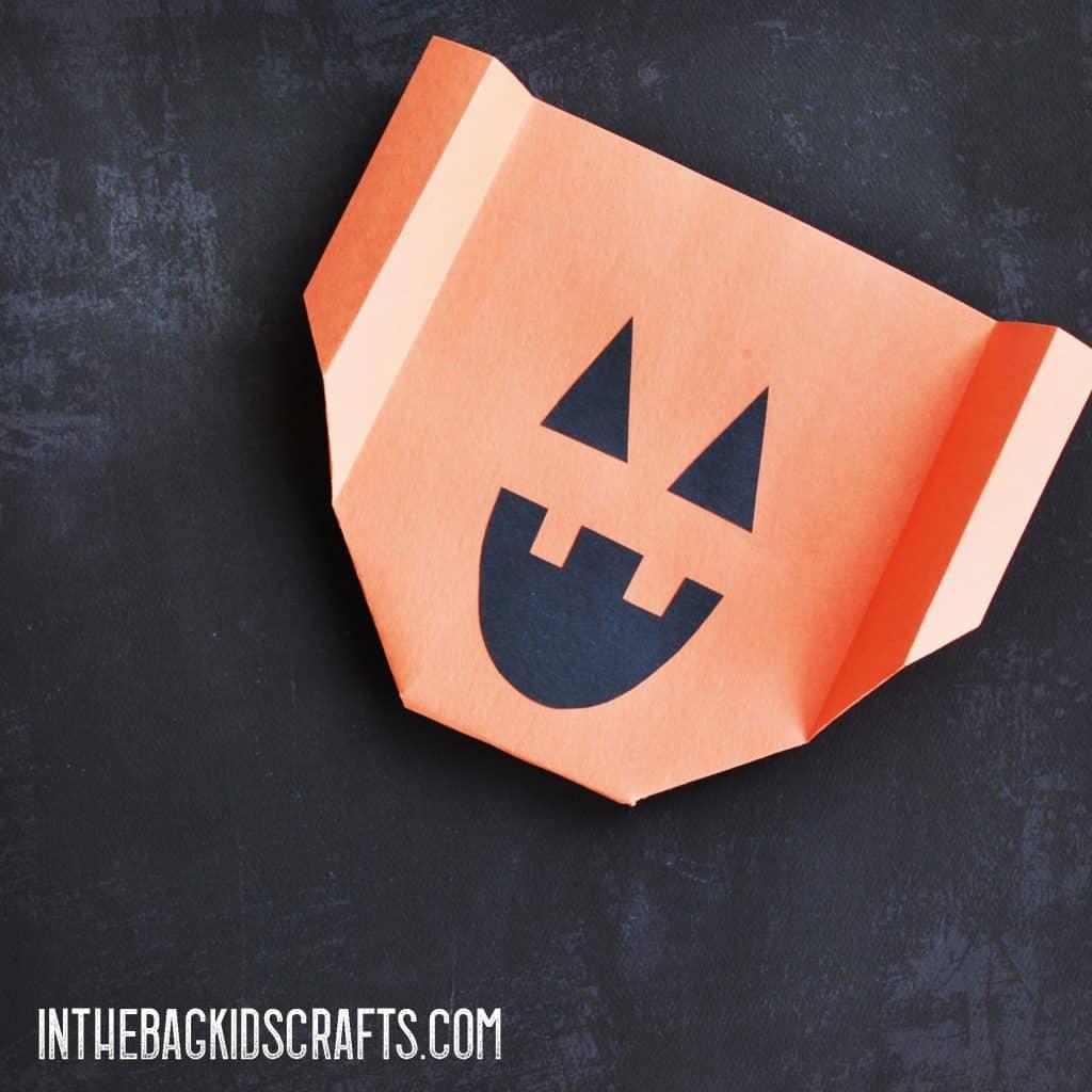 Halloween Kids' Activity:  Jack-o-Lantern Glider