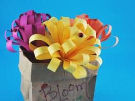 VERY EASY PAPER FLOWERS