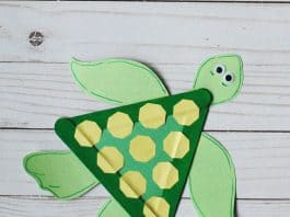 SEA TURTLE CRAFT FOR KIDS