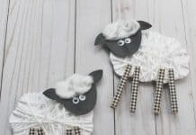EASY SHEEP CRAFT FOR KIDS