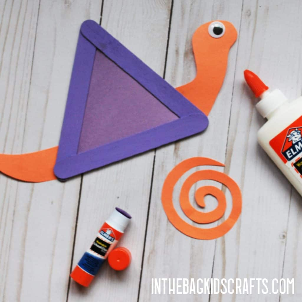INSECT CRAFTS FOR KIDS SNAIL