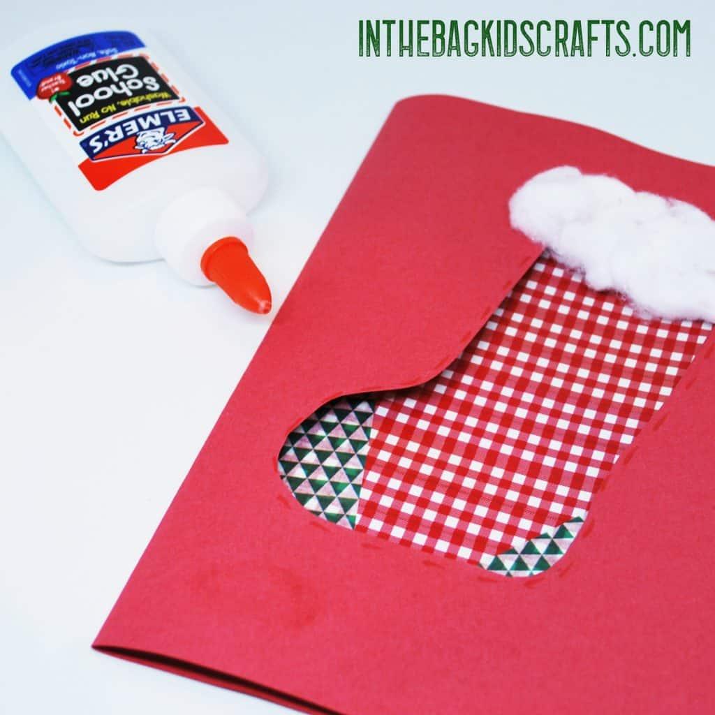 stocking card step 4