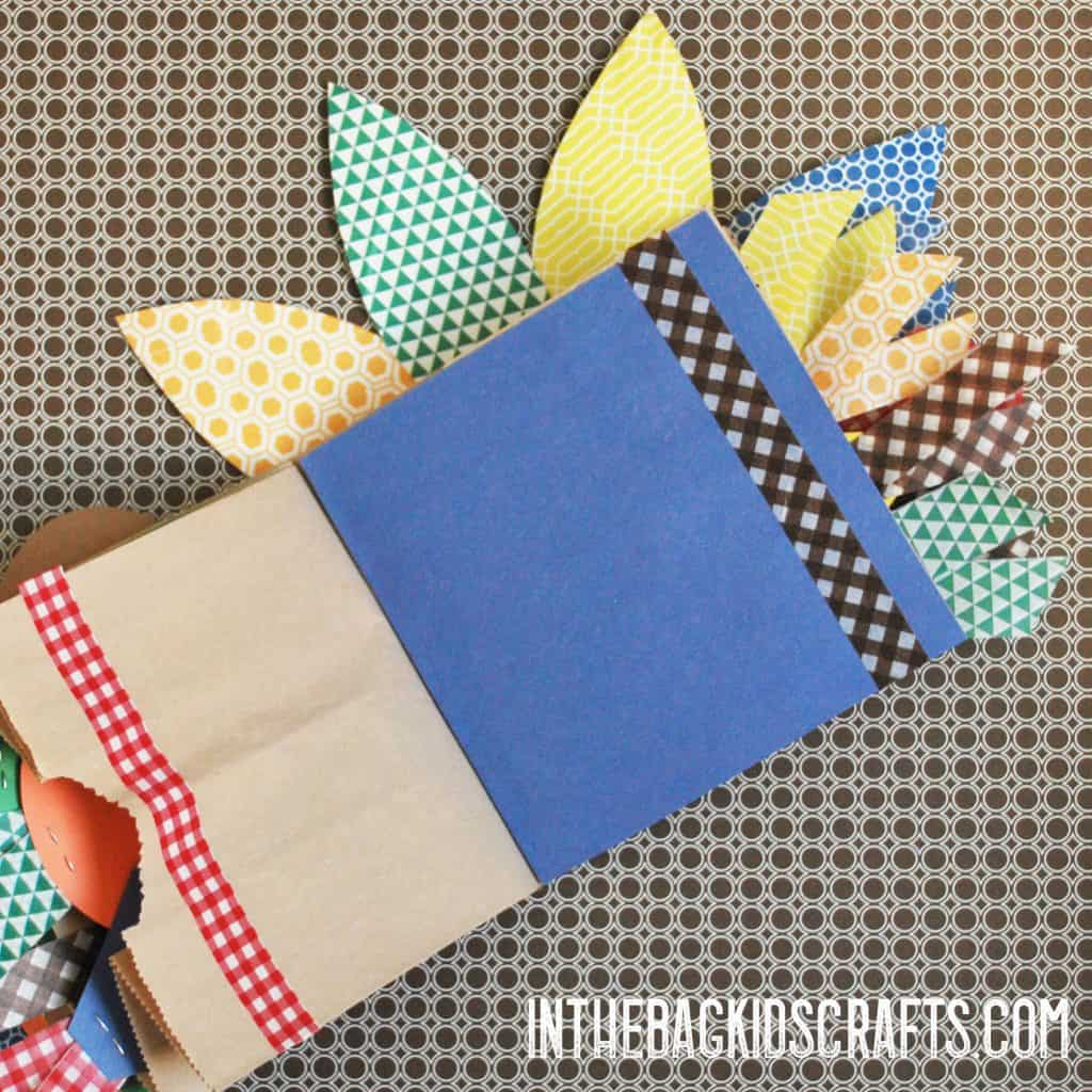 thanksgiving scrapbook pages
