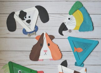 PET CRAFTS FOR KIDS
